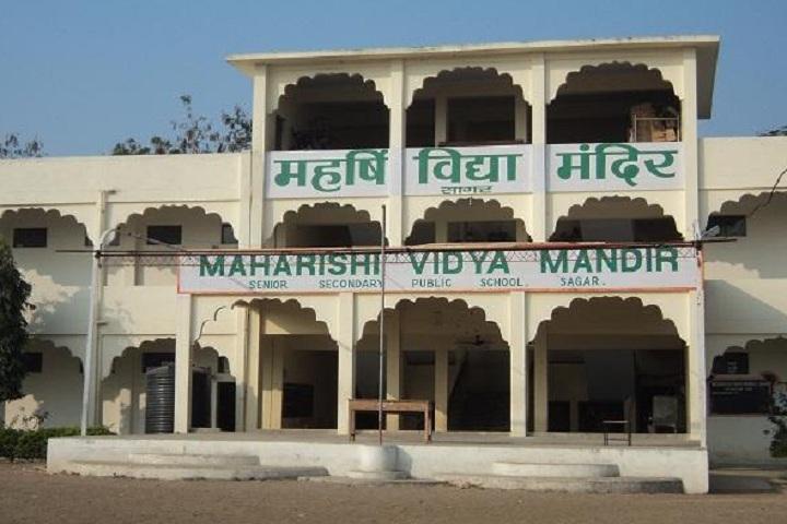 Maharishi Vidya Mandir-Campus-View front