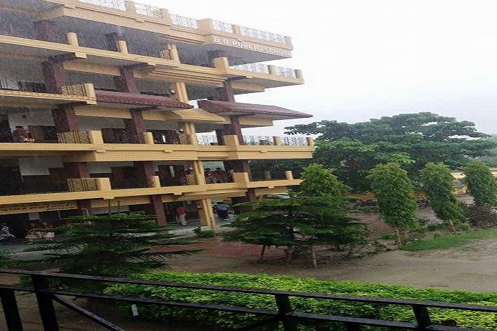 B D Public School-Campus View
