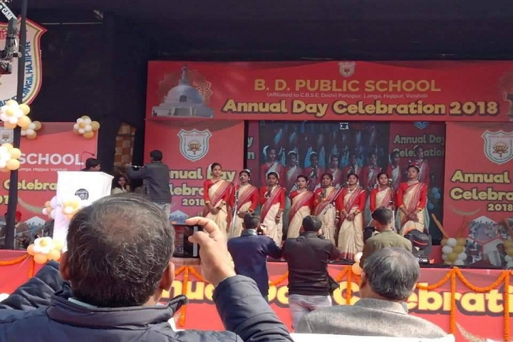 B D Public School-Annual Day