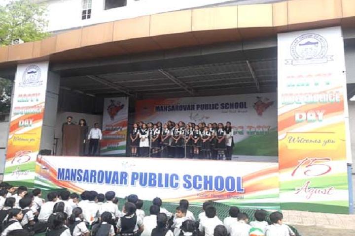 Mansarover Public School-Events independance day