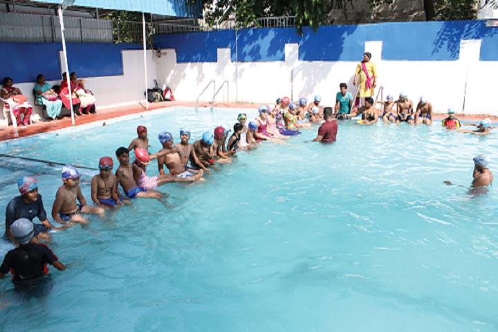 Mansarover Public School-Swimming pool