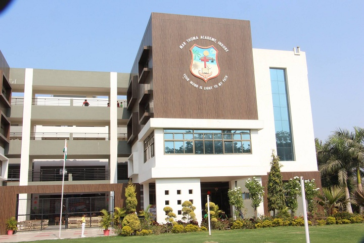 Marthoma Academy-Campus Front View
