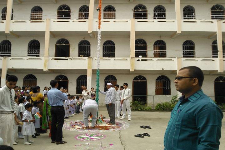 B L Indo Anglian Public School-Republic day