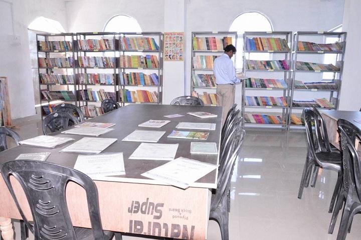 B L Indo Anglian Public School-Library