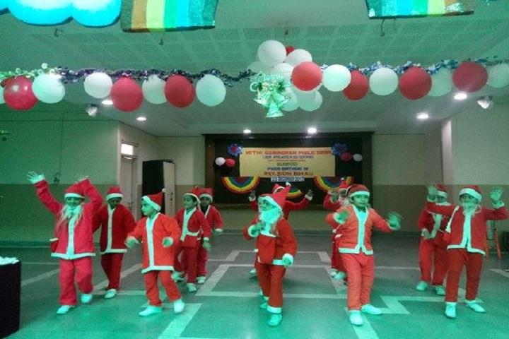 Mitthi Gobind Ram Public School-Christams Celabartions