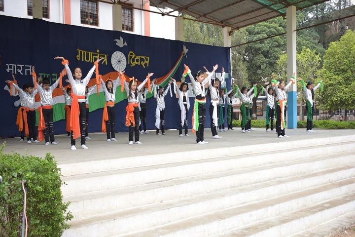 Mont Fort High School-Republic Day