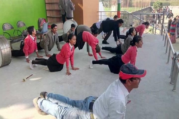 Morition Public Higher Secondary School-Yoga