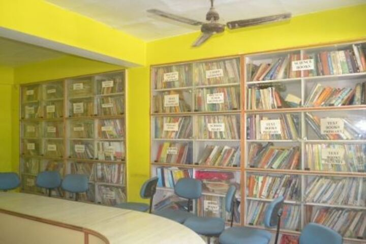 Morition Public Higher Secondary School-Library