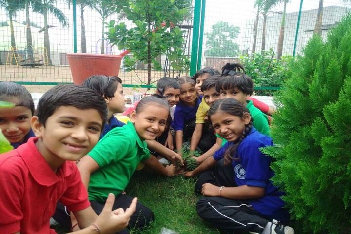 Narmada Valley Academy-Tree Plantation