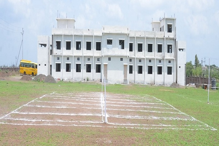 Navin Vaishnav Vidhyamandir-Campus-View With Playground