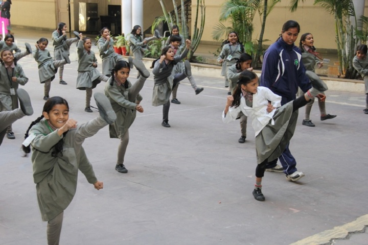 Navnidh Hassomal Lakhani Public School-Karate