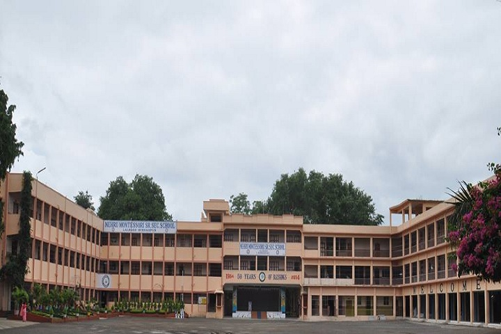 Nehru Montessori Higher Secondary School-Campus-View