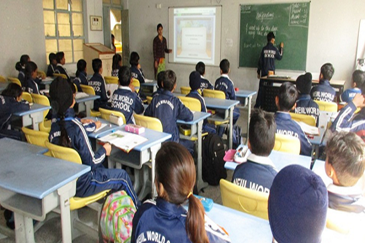 Neiil World School-Class Room