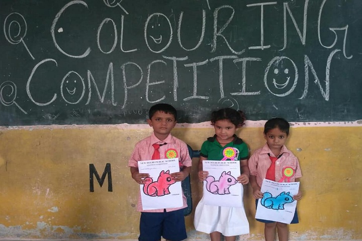 New Delhi Public School-Events colour competition
