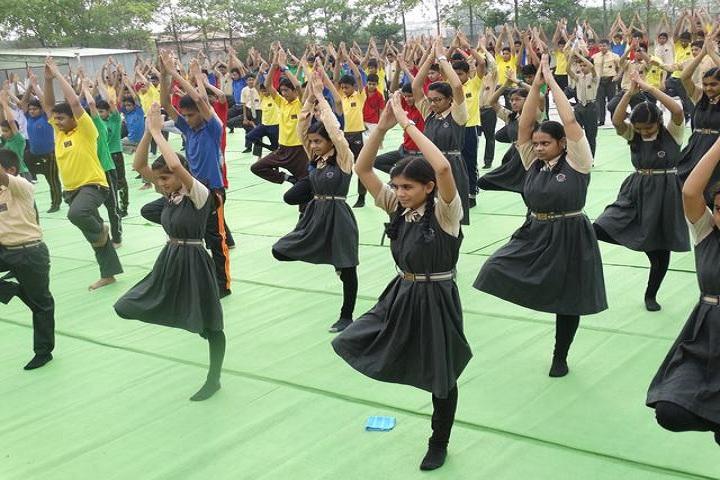 New Age Public School-Yoga