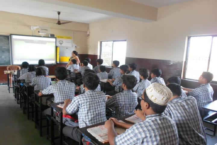 Nirmala Convent School-Classroom Smart