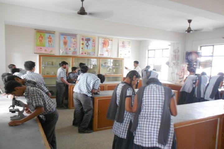 Nirmala Convent School-Science Laboratory