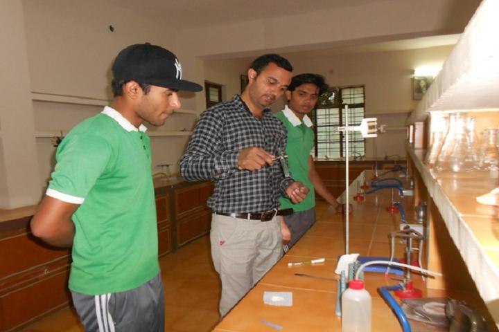 Nirmala Convent School-Chemistry Laboratory