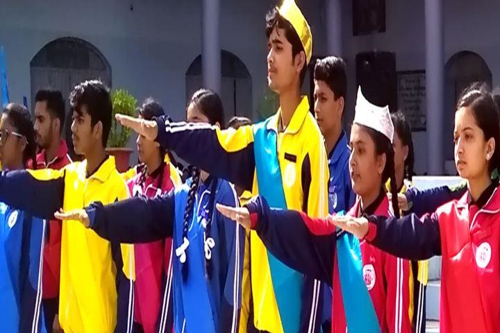 Nirmala English Medium School-Assembly