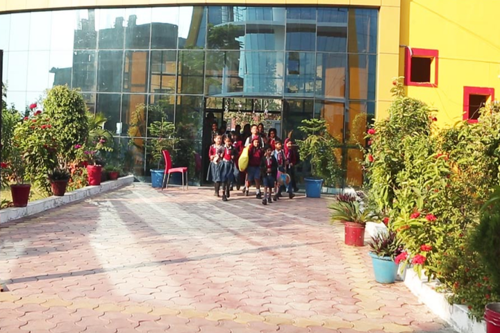 Nri Global Discovery Academy School-Entrance View