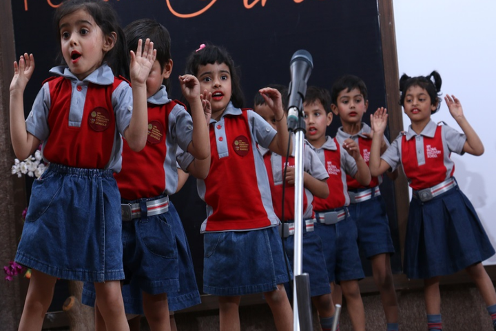 Nri Global Discovery Academy School-Singing Competition
