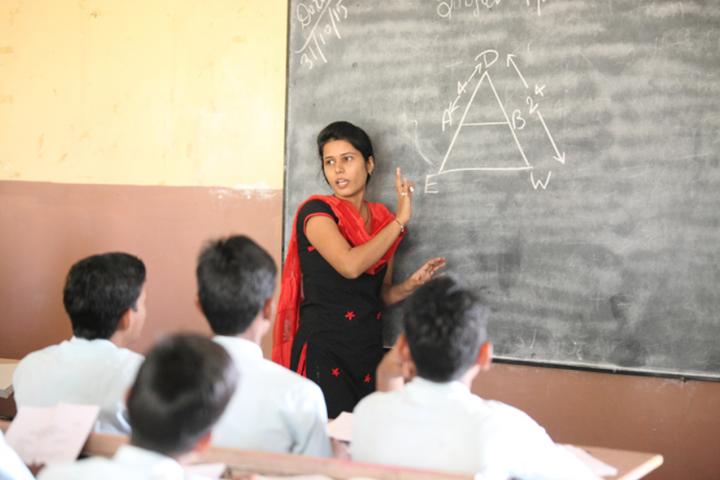 Om International School-Classroom