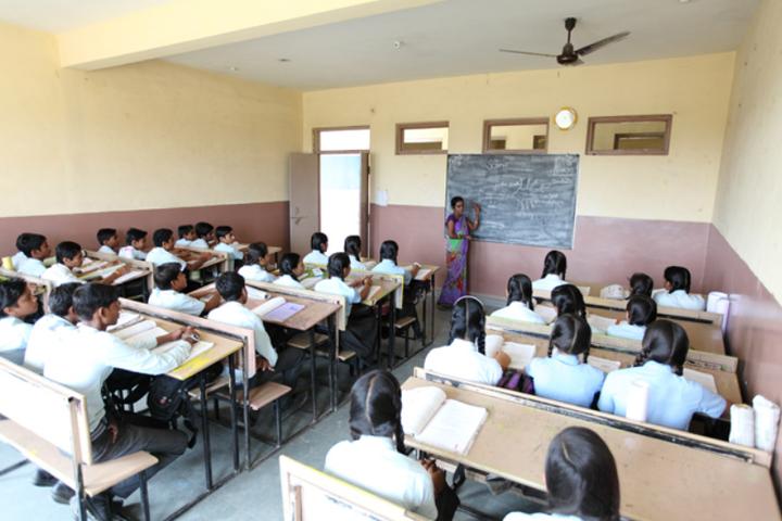 Om International School-Classroom View