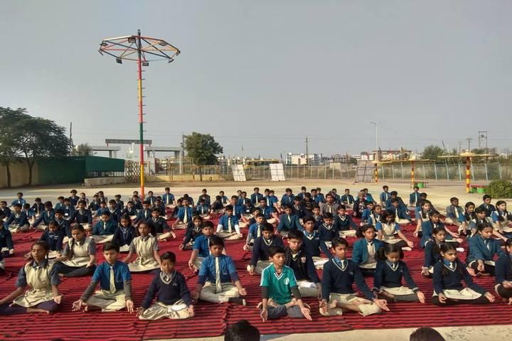 Orion International School-Yoga Day