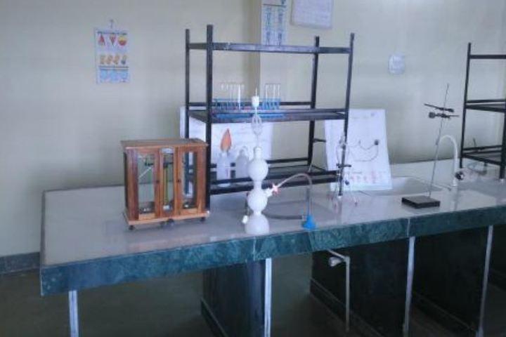 Pandit Ramlal Sharma English Medium School-Physics Lab