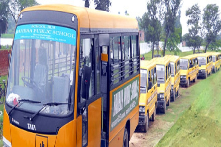 Bahera Public School-Transport