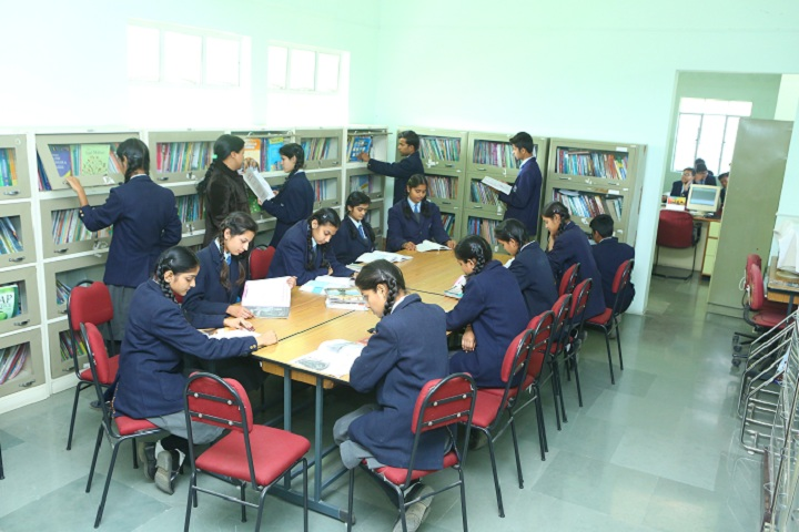 Paras Vidya Vihar-Library