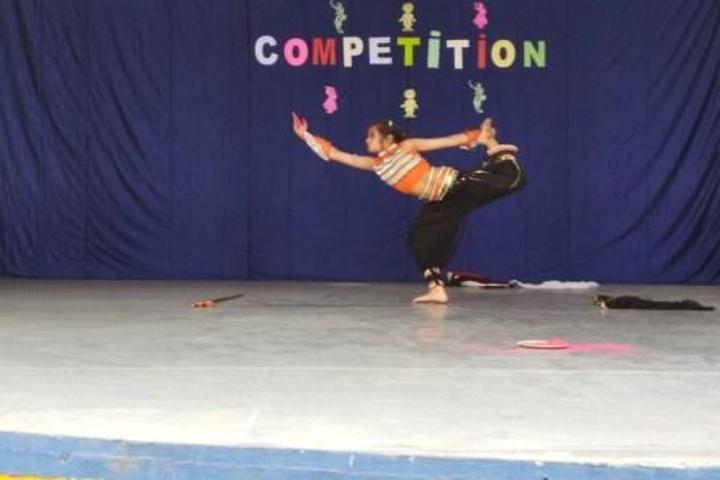 Patel Public School-Dance Competition