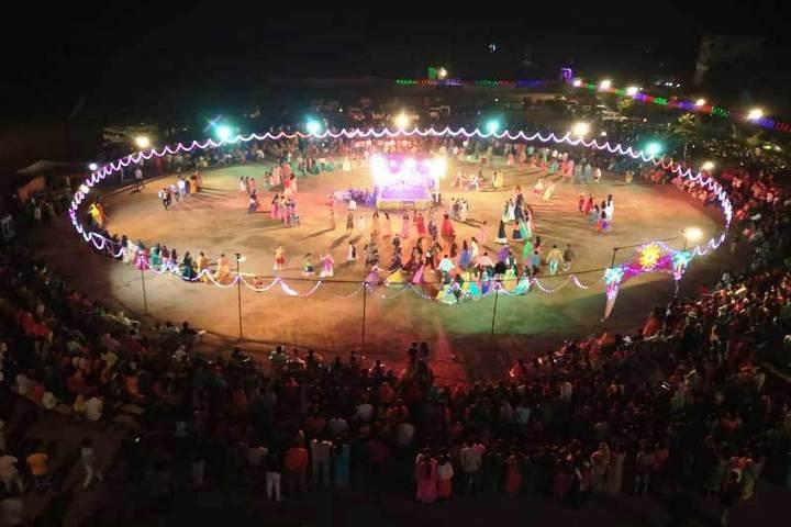 Patel Public School-Garba Competition