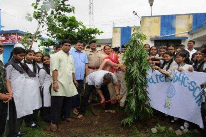 Patel Public School-Tree Plantation