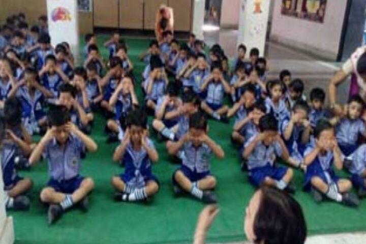 Peoples Public School-Yoga-Day