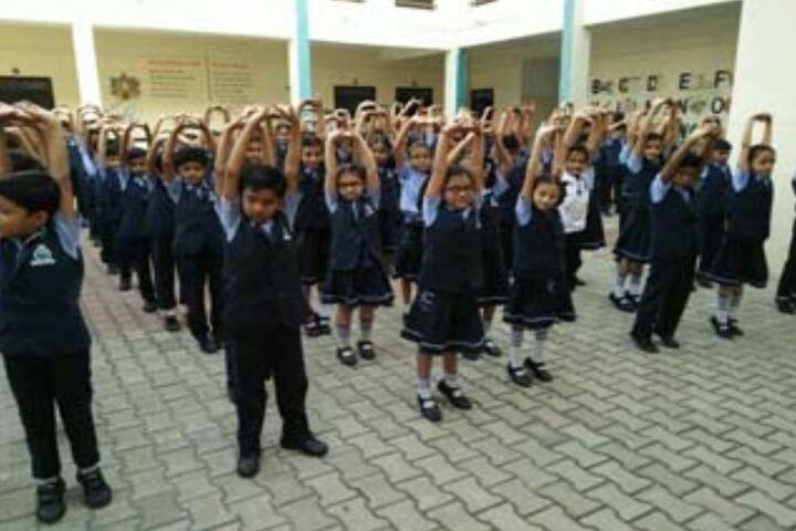 Peoples Public School-Yoga-Day1