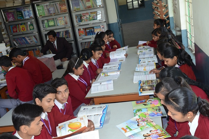 Bal Bharti Vidyalaya-Library