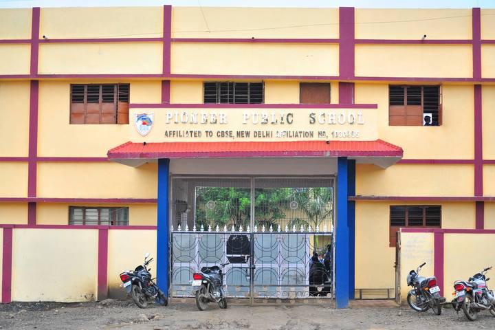 Pioneer Public School-Entrance-View