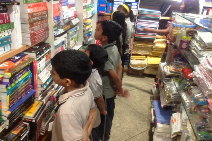 Podar International School-Book-Store