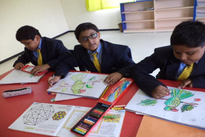 Podar International School-Art Craft