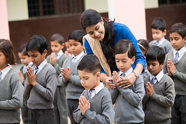 Pragyan English Medium Co Educational School-Prayer