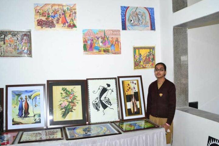 Pratibhasthali Gyanoday Vidiyapeeth-Exhibition
