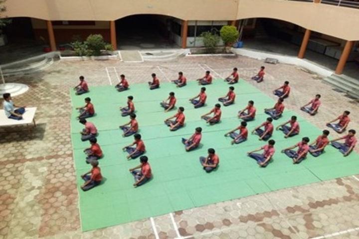 Prof Santosh Mittal Higher Secondary School-Yoga
