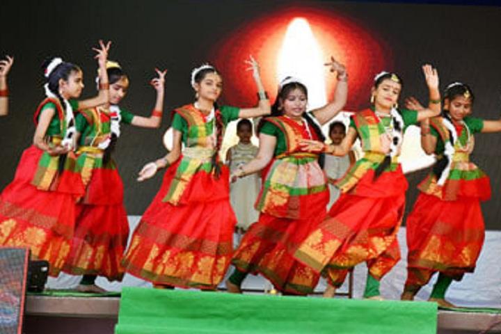 Pushpa English Medium School-Dance