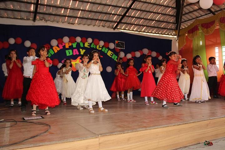 Pushpa English Medium School-Teachers Day