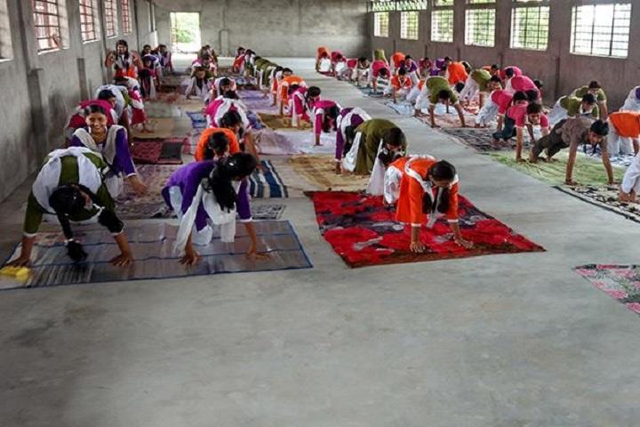 Pushpa English Medium School-Yoga