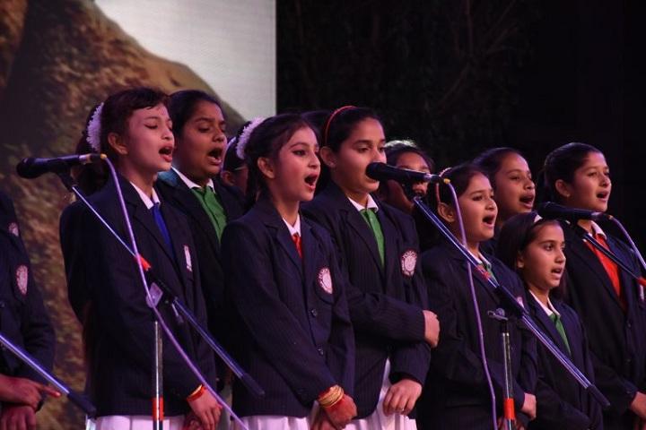 Pushpdeep International School-Singing