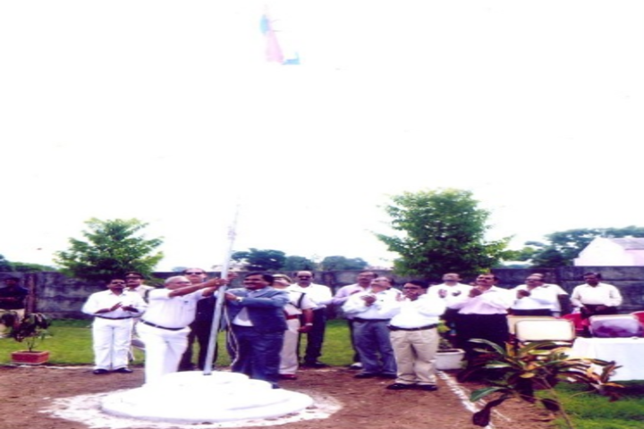 RC English Medium Higher Secondary School-Flag-hosting