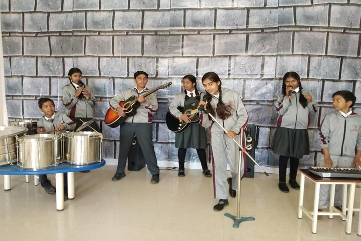 Raghu International School-Music-Room