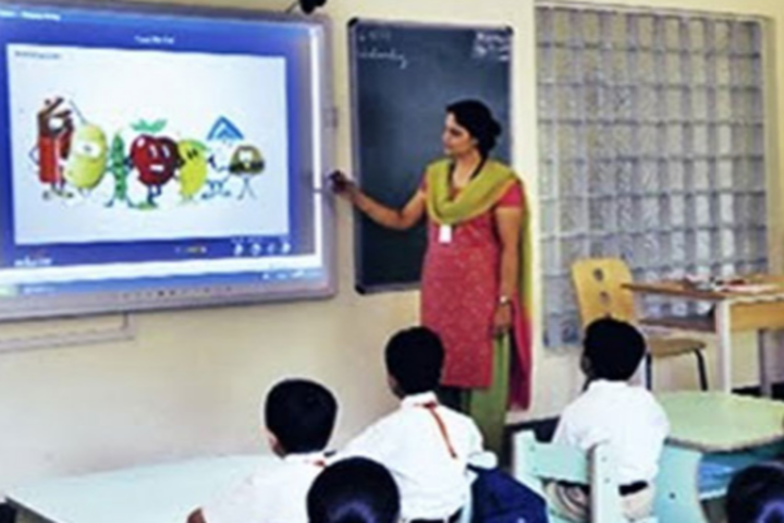 Raghu International School-Smart-Classroom